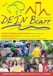 DEIN Blatt Ausgabe 4 - Deininghausen