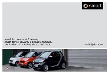 smart fortwo coupé & cabrio, smart fortwo BRABUS ... - Motorline.cc