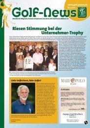 Riesen Stimmung bei der Unternehmer-Trophy - Donau Golf Club ...