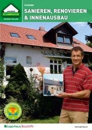 sanieren, renovieren & innenausbau - Raiffeisen Lagerhaus Hippach