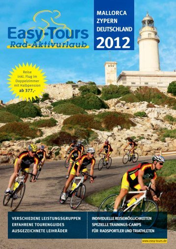 Download Katalog 2012 - Easy-Tours