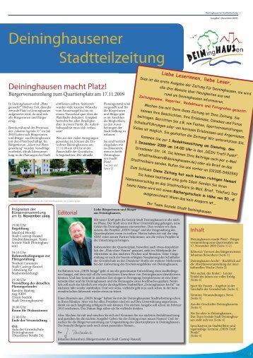 DEIN Blatt Ausgabe 1 - Deininghausen