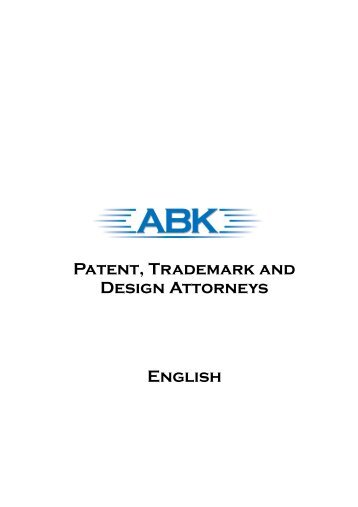 English Patent, Trademark and Design Attorneys - ABK-IP.com