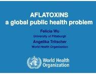 Aflatoxins - Forum for Agricultural Risk Management in Development