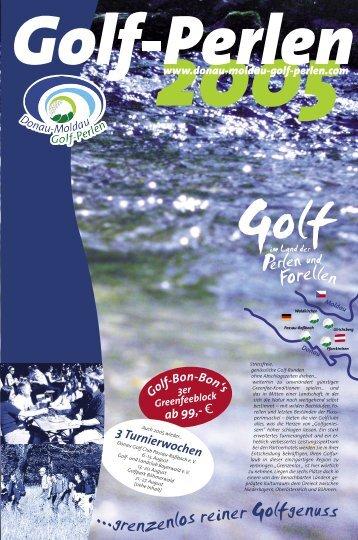 Termine - Golf im Land der Perlen und Forellen