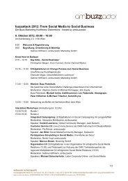 Programm als PDF herunterladen - Buzzattack