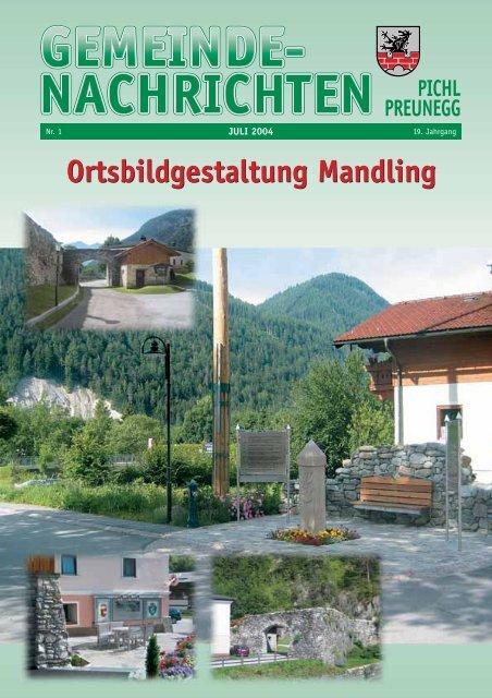 Pichl Gem. Ztg. Juli 2004 - Tourismusverband Pichl-Mandling