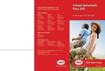 Freizeit-Sicherheits- Pass 2011