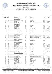 Langlauf Vereinslauf (PDF) - Ramsau am Dachstein