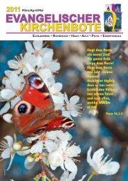 Ausgabe 1/2011 - Evangelische Pfarrgemeinde Schladming