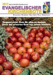 Ausgabe 3/2012 - Evangelische Pfarrgemeinde Schladming