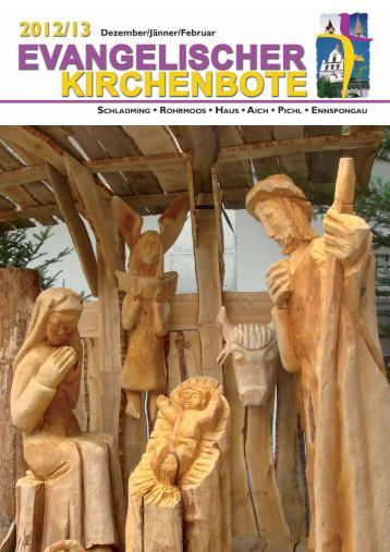 Ausgabe 4/2012 - Evangelische Pfarrgemeinde Schladming