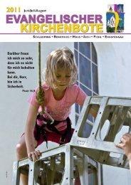 Ausgabe 2/2011 - Evangelische Pfarrgemeinde Schladming