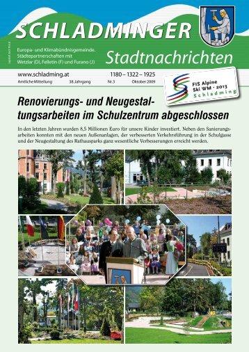 SCHLADMINGER Stadtnachrichten
