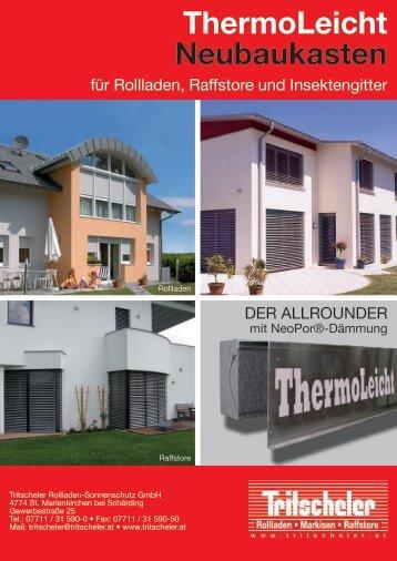 Prospekt ThermoLeicht.pdf - RST ROLETY sro