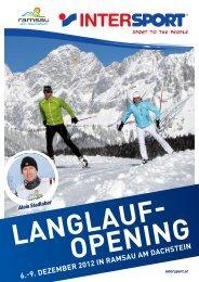 6.-9. Dezember 2012 in ramsau am Dachstein