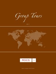 Group Tours - ROCS Group