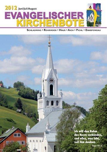 Ausgabe 2/2012 - Evangelische Pfarrgemeinde Schladming