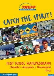 HIGH SCHOOL WAHLPROGRAMM - TREFF