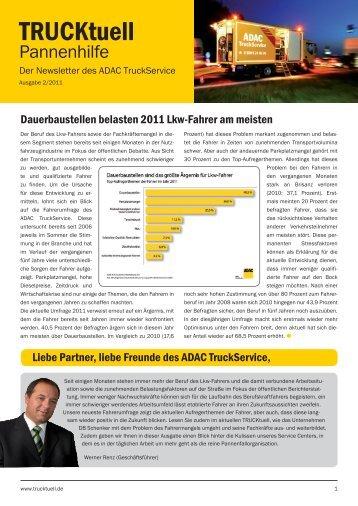 TRUCKtuell Ausgabe 02/2011 - ADAC