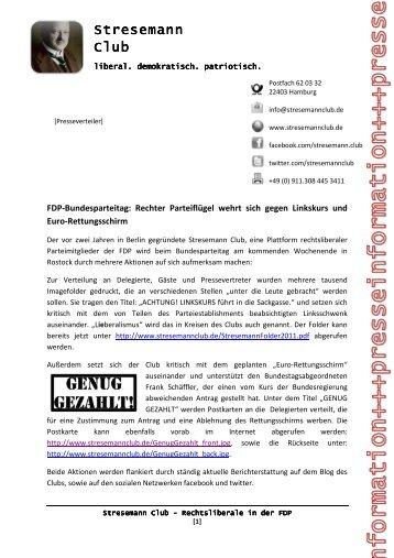 Stresemann Stresemann Club - Stresemann Club – Rechtsliberale ...