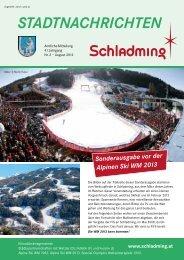 Ausgabe August 2012 - Schladming