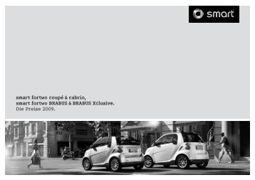 Preisliste smart fortwo - smart Center Stuttgart