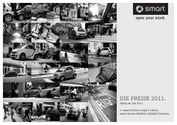 Preisliste smart fortwo - smart Berlin
