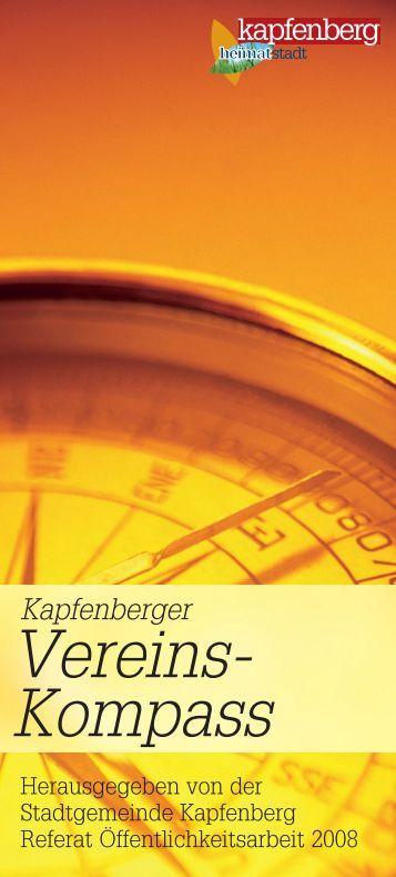 Vereins- Kompass - Stadtgemeinde Kapfenberg
