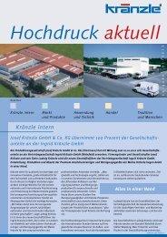 Handel, GmbH & Co. KG, Achern - Kränzle