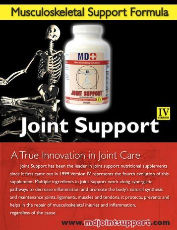 Joint Support - MD+ Store