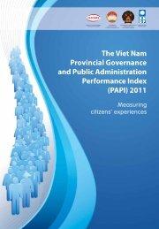(PAPI) 2011 - United Nations Development Program Vietnam