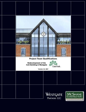 Westgate Partners LLC - the Village of Oak Park