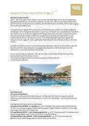 Sensimar Port Royal Villas & Spa 5 - TUI ReiseCenter