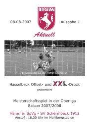 HSV Heft Nr.1