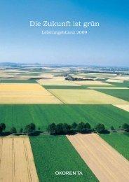 Leistungsbilanz 2009 - Ökorenta Finanz AG