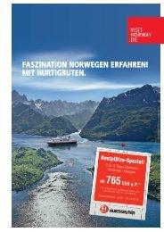 faszination norwegen erfahren! mit hurtigruten. - TUI ReiseCenter
