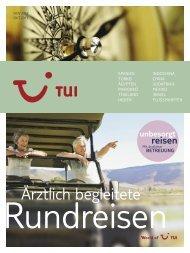 Ärztlich begleitete Reisen - TUI ReiseCenter