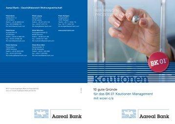 04 / 2009 BK 01 ® ist eine eingetragene Marke - Aareal Bank AG