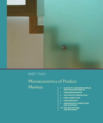 Chapter 6: Elasticity, Consumer Surplus, and Producer Surplus