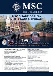 MSC SMART DEALS – NUR 8 TAGE BUCHBAR!