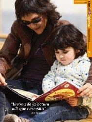 """""""Un treu de la lectura allò que necessita"""" - Ajuntament de Cornellà"""