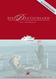 Alleinreisende auf See in guter Gessellschaft 2013/2014