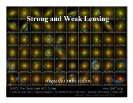 Strong and Weak Lensing