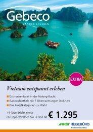 Vietnam entspannt erleben - TUI ReiseCenter