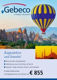 Kappadokien und Istanbul - TUI ReiseCenter