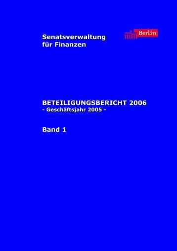 Band 1 - Abgeordnetenhaus von Berlin