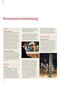 Geschäftsbericht 2009 - Technorama - Seite 6