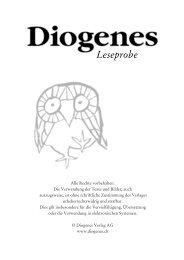 zur Leseprobe (PDF) - Diogenes