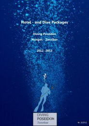 Hotel - and Dive Packages - Diving Poseidon